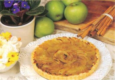 Reţetă culinară: Tartă cu mere